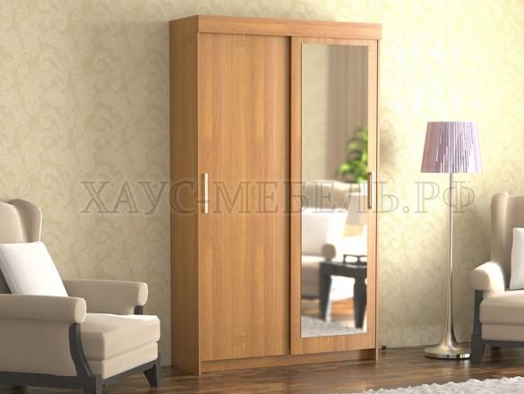 Шкаф-купе 2-створчатый с зеркалом