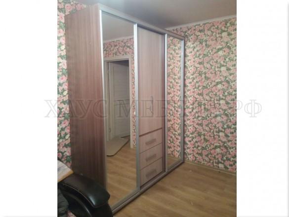 Шкаф-купе Версаль 3 с зеркалами