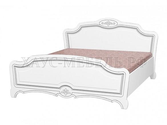 Кровать Лотос жемчуг 1400 мм.