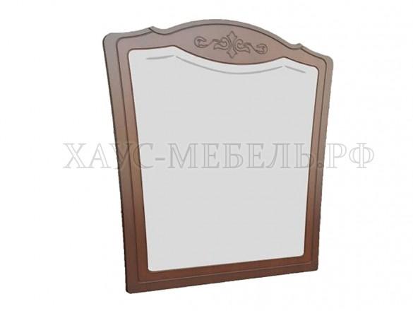Зеркало настенное Лотос орех