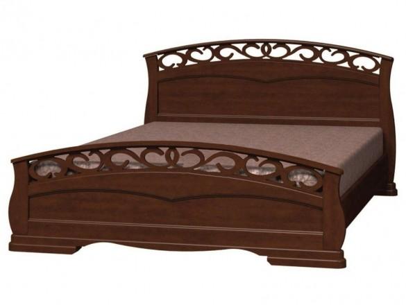 Кровать Грация 1 Орех