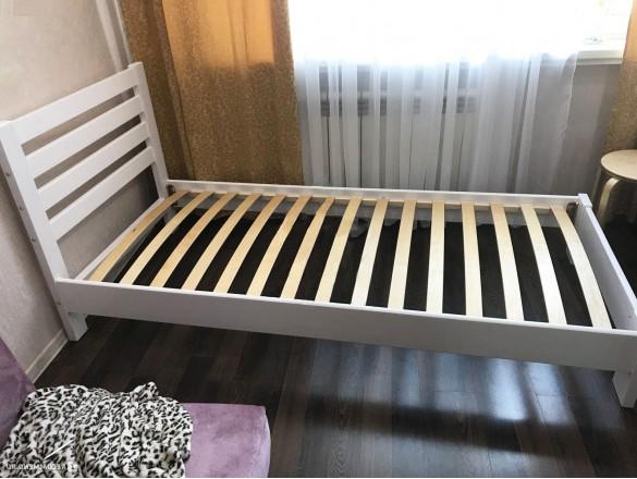 Кровать Вероника Белый Античный