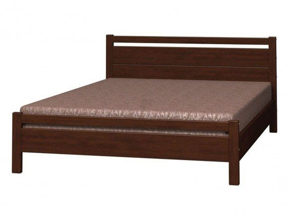 Кровать Вероника 1 Орех