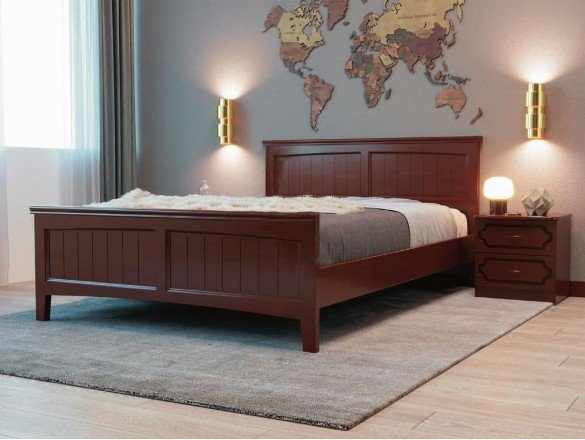 Кровать Грация 4 Орех