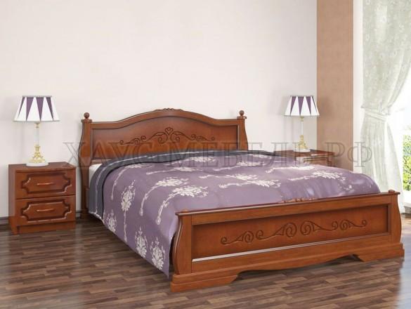 Кровать Карина 2 Орех