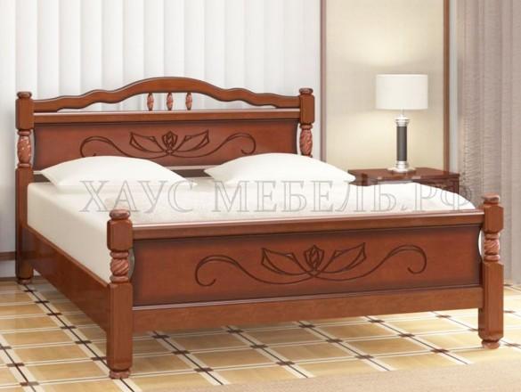 Кровать Карина 5 Орех