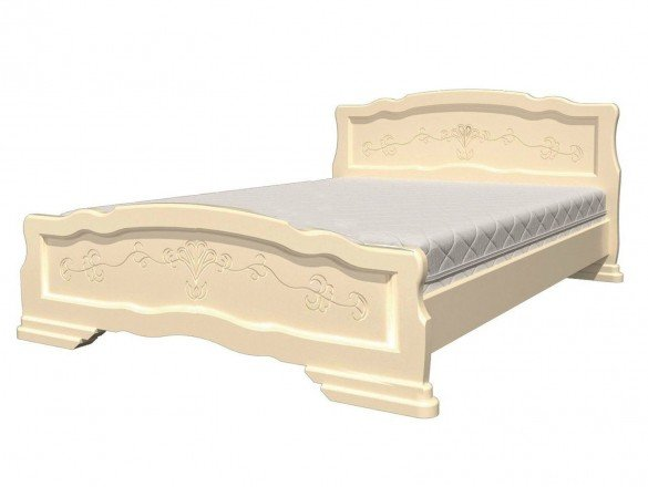 Кровать Карина 6 Слоновая кость