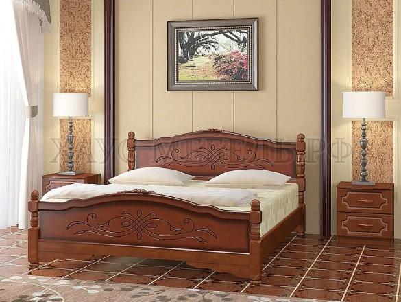 Кровать Карина 12 Орех