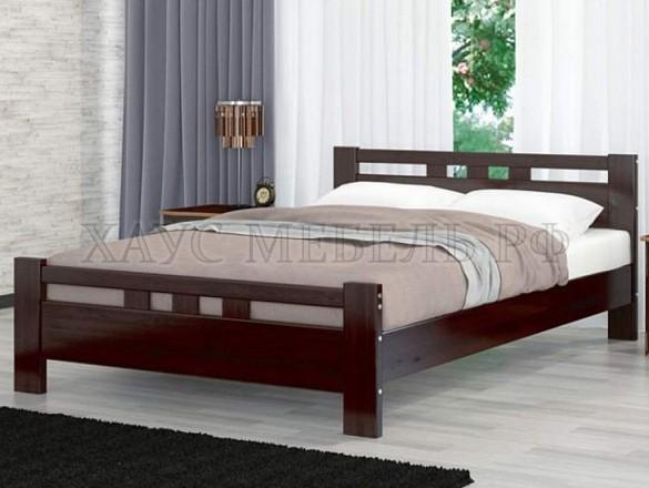 Кровать Вероника 2 Орех тёмный