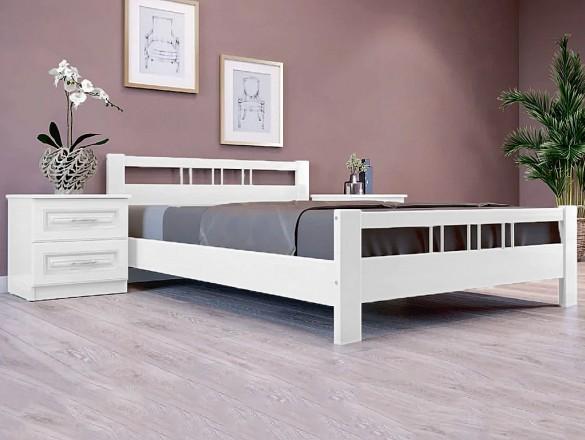 Кровать Вероника 3 Античный белый