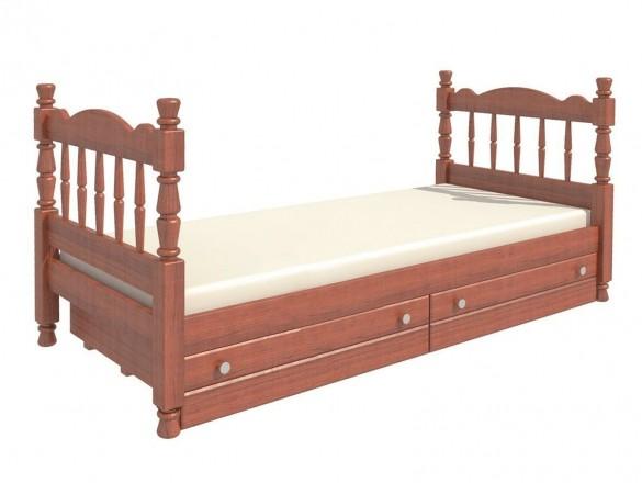 Кровать детская Алёнка одинарная орех