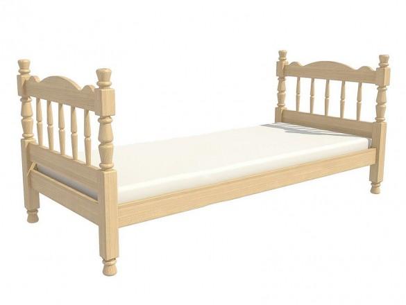 Кровать детская Алёнка одинарная сосна