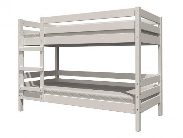 Кровать детская Джуниор двухъярусная Белый Античный