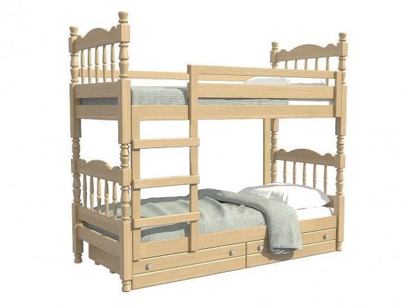 Кровать двухьярусная Соня Сосна