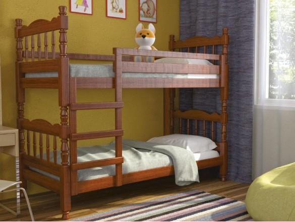 Кровать детская двухьярусная Соня Орех