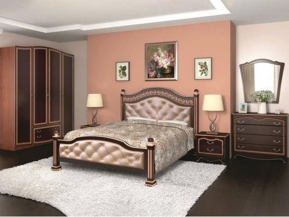 Спальный гарнитур Оникс ( лак )