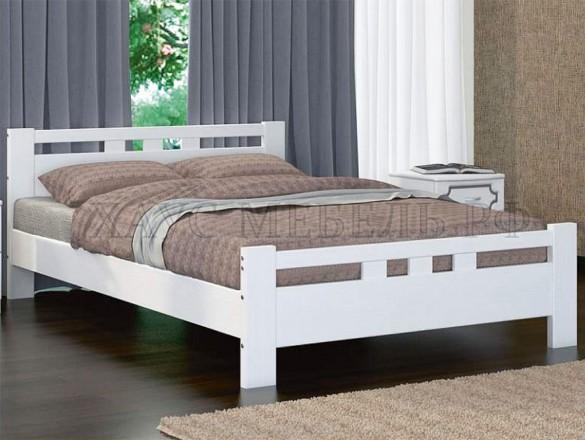 Кровать Вероника 2 Античный Белый