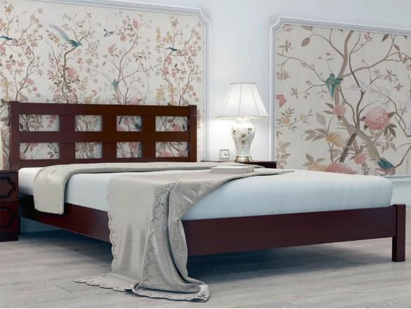 Кровать Вероника 4 Орех