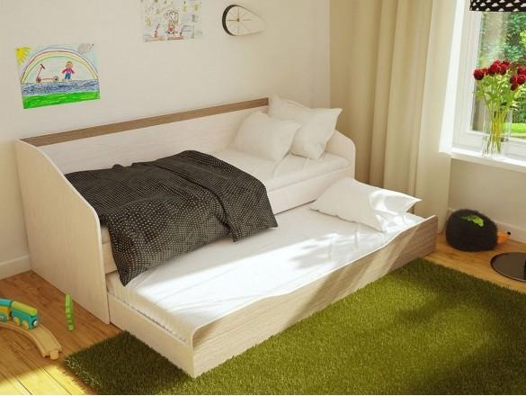 Кровать детская с ящиком Паскаль