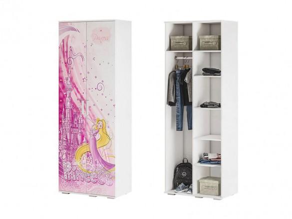 Шкаф для одежды ШК-09 Трио рапунцель