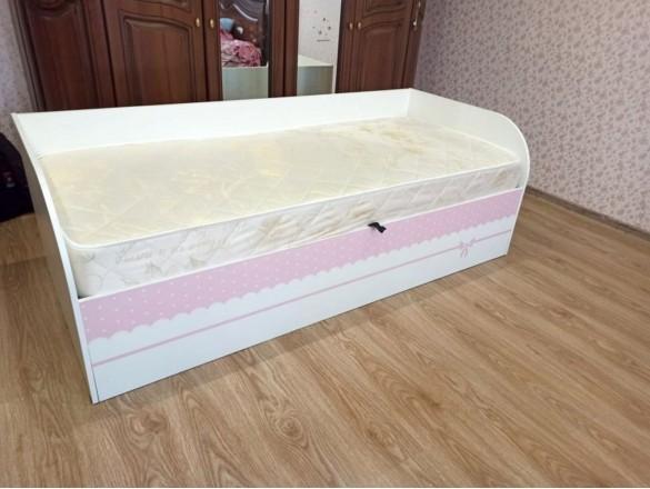 Кровать детская с ПМ КРП-01 Трио принцесса