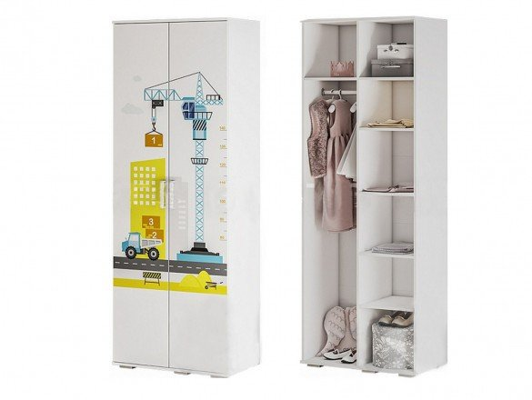 Шкаф для одежды ШК-09 Трио логика