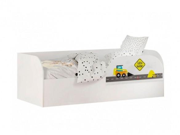 Кровать детская с ПМ КРП-01 Трио логика