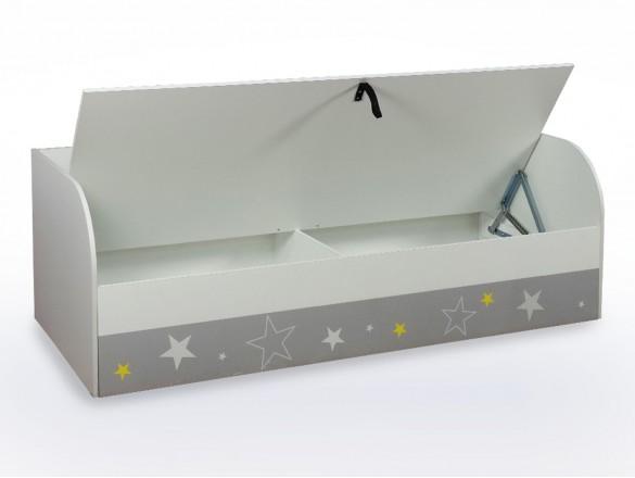 Кровать детская с ПМ КРП-01 Трио звездное детство