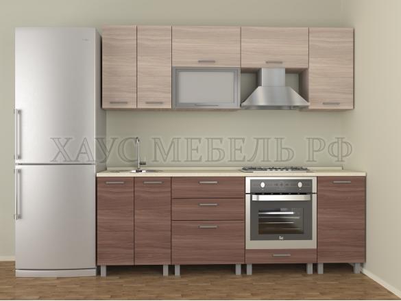 Кухня ЛДСП Ясень 2200 мм.