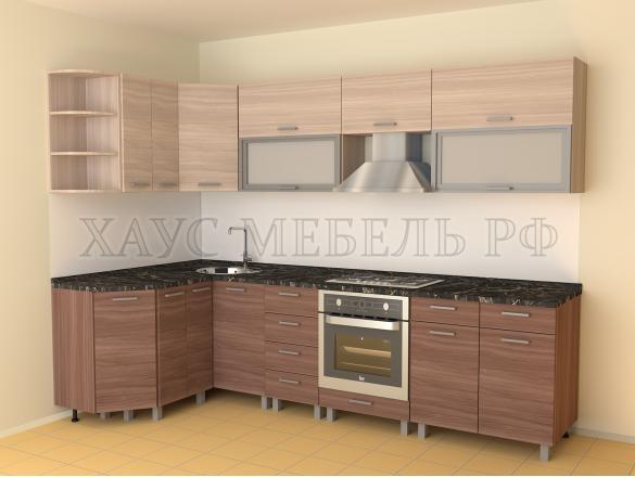 Кухня ЛДСП Ясень 4200 мм.