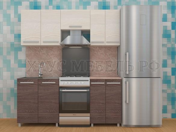 Кухня ЛДСП Ясень 2000 мм.