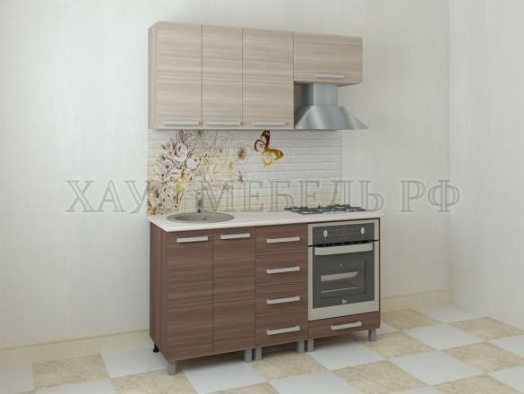 Кухня ЛДСП Ясень 1600 мм.
