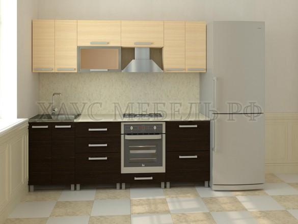 Кухня ЛДСП Венге/дуб молочный 2400 мм.