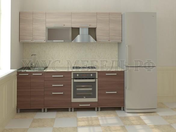 Кухня ЛДСП Ясень 2400 мм.