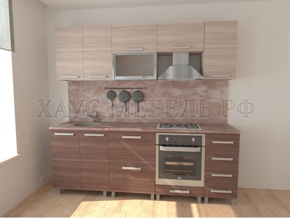 Кухня ЛДСП Ясень 2400 мм. №2