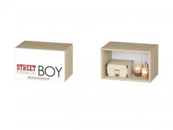 Шкаф антресольный АН-03 Сенди для мальчика