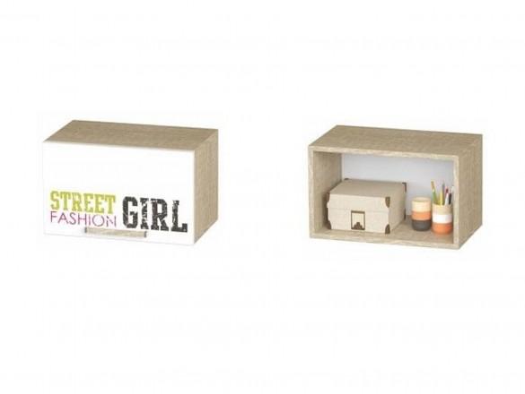 Шкаф антресольный АН-03 Сенди для девочки