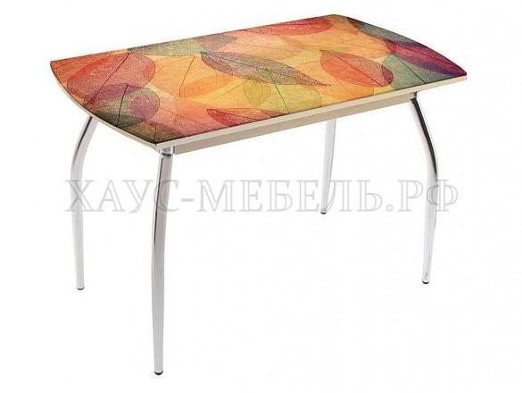 Стол обеденный Листья цветные