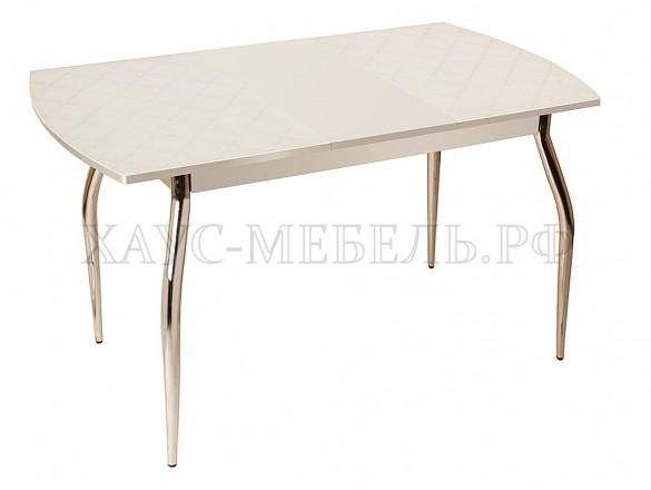 Стол обеденный Фуджи белый