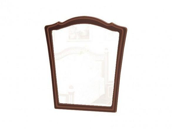 Зеркало настенное Оникс темный орех