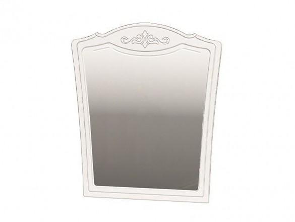 Зеркало настенное Лотос Белый глянец